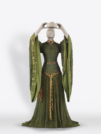 Costume for 'Lady Macbeth' known as the 'Beetle Wing Dress'