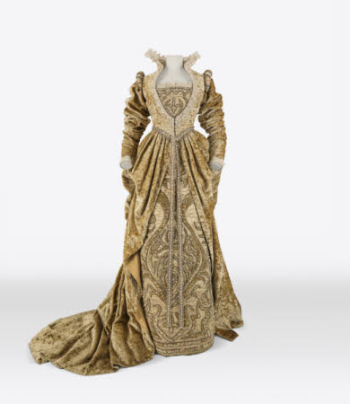 Costume worn by Ellen Terry (1847–1928) in the role of 'Beatrice' in the 1882 production of 'Much ...