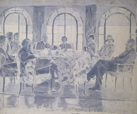 Tea at Chartwell, 29th August 1927
