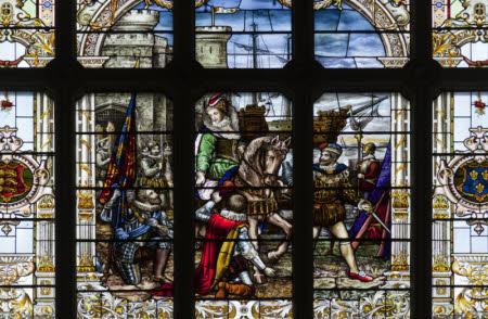 Queen Elizabeth I (1533–1603) at Tilbury