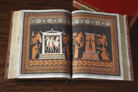 Collection of Etruscan, Greek, and Roman antiquities . from the cabinet of the Hon. Wm. Hamilton.
