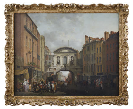 View of Temple Bar, London