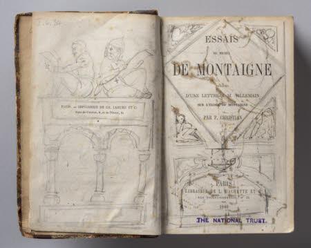 Essais de Michel de Montaigne . précédés d'une lettre à M. Villemain sur l'éloge de Montaigne ...