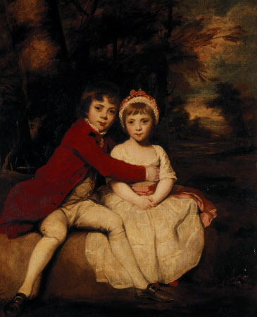 John Parker, later 1st Earl of Morley (1772-1840),  and his Sister Theresa Parker, later the Hon. ...