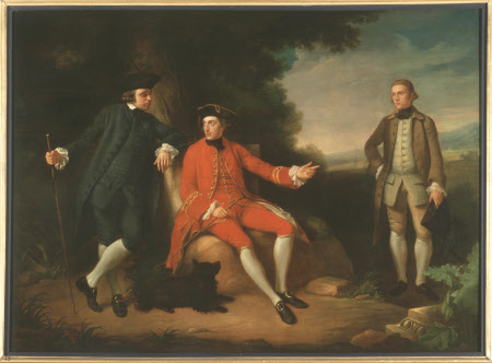 William Weddell (1736-1792), The Reverend William Palgrave (c. 1735 - 1799) and Mr Janson in Rome
