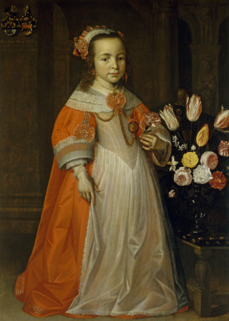 Anna Maria Siedonia Mockels (1624-1650) as a Child