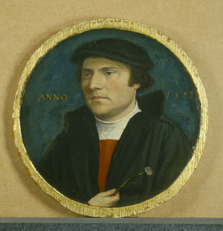 A Young Man with a Pink