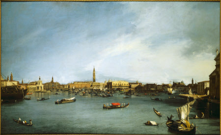 The Bacino di San Marco, Venice, seen from the Giudecca