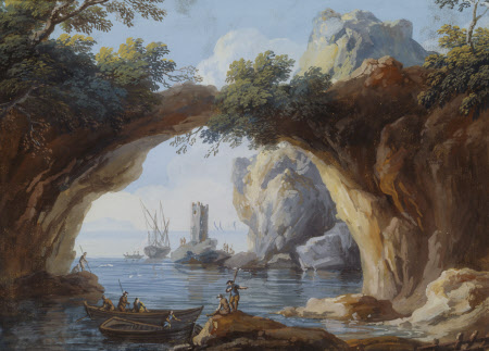 Grotto near Naples