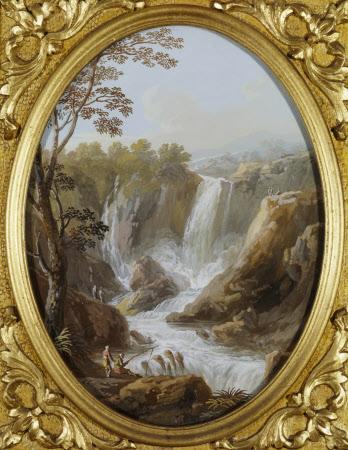The Falls of the Velino near Terni, known as the Cascata del Marmore