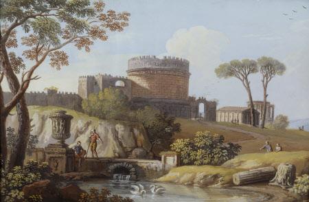The Tomb of Cecilia Metella, Rome