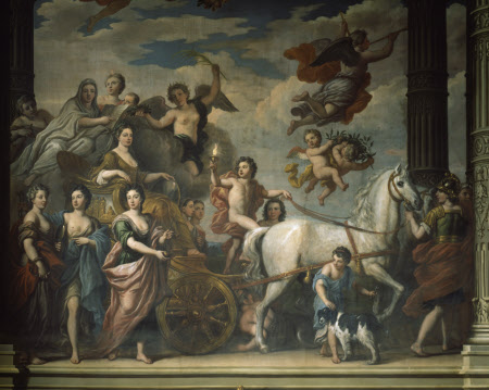 Triumph of  Elizabeth Percy, Duchess of Somerset (1667-1722)