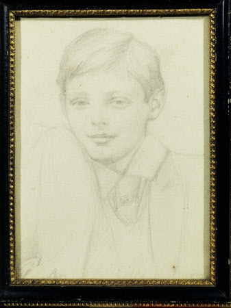 Sir Winston Churchill (1874-1965) as a Boy