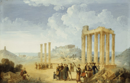The Olympeion at Athens