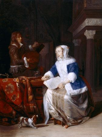 The Duet ('Le corset bleu')