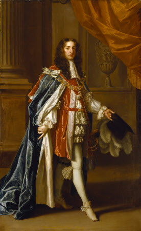 King William III (1650–1702), as Prince of Orange in Garter Robes
