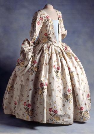 Court mantua dress