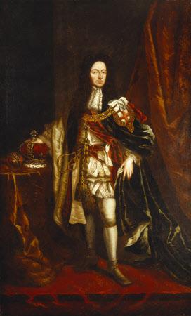 King William III (1650–1702) in Garter Robes