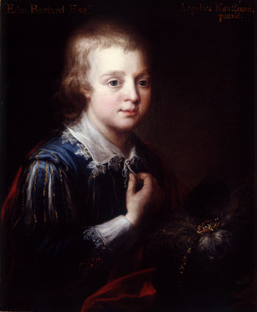 Edmund Bastard (1758-1816), as a boy