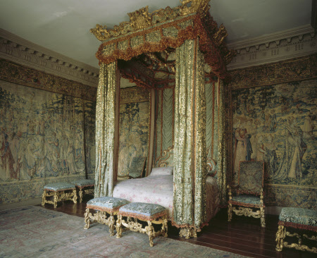 King James II's State Bed