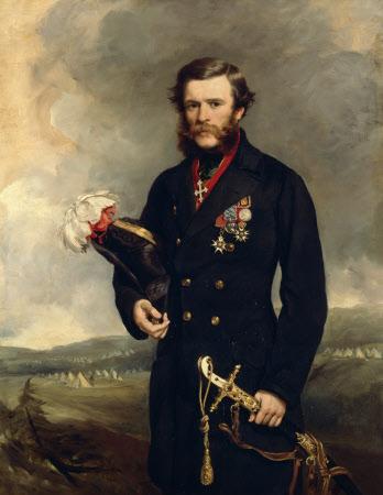 The Honourable Percy Egerton Herbert CB, MP, later Lieutenant-General, KCB, PC (1822-1876)