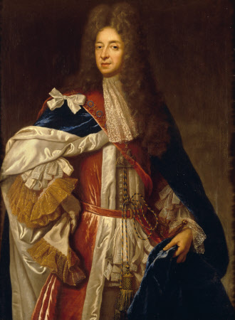 William Herbert, 1st Marquess and (titular) Duke of Powis (1626-1696) in Garter Robes