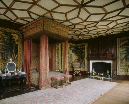 The Spangle Bedroom at Knole, Sevenoaks, Kent © National Trust Images