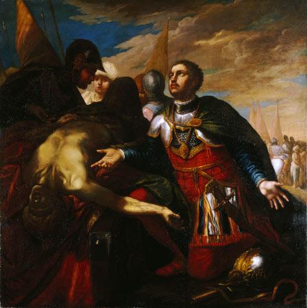 Alexander and the Body of Darius