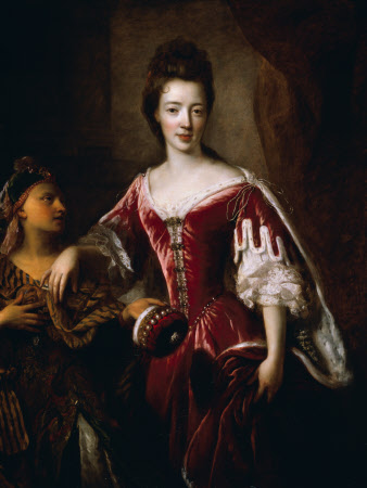 Lady Mary Herbert, Viscountess Montagu (1659-1744/5)