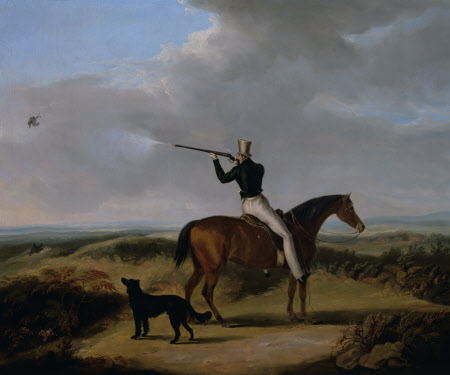 Sir Henry William Paget, 1st Marquess of Anglesey (1768-1854) shooting Blackcock on Cannock Chase, ...