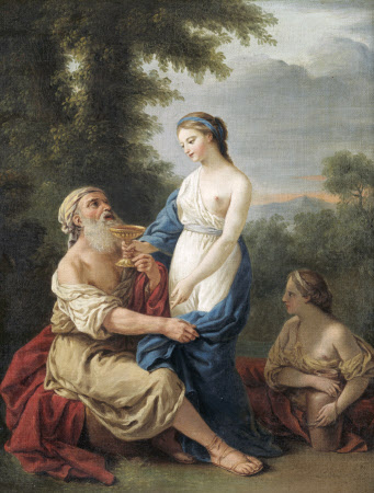 Lot and his Daughters (after Lagrenée)