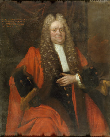 Sir Abraham Elton, 1st Bt MP (1654 - 1727)