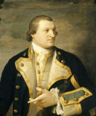 Captain John Neale Pleydell Nott RN (1732-1781)