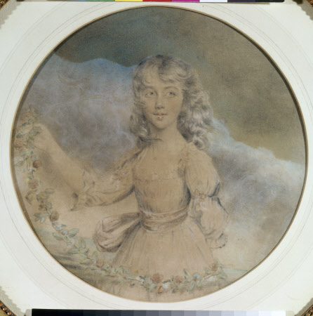 Flora Wynch, Mrs James Legge Willis (1776-1842) as a young girl