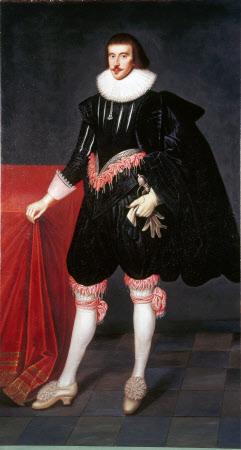 An Unknown Man called George Villiers, 1st Duke of Buckingham (1592-1628)