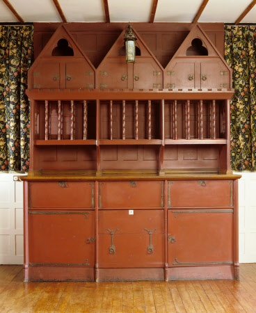 The Dresser, designed by Philip Webb