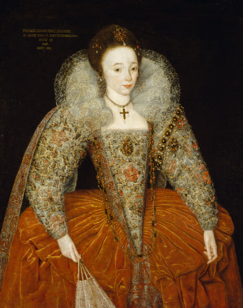 Lady Eleanor Percy, later Lady Powis (1582/3-1650), aged 13