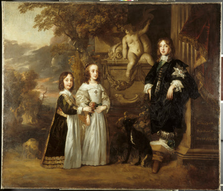 The Three Younger Children of Charles I