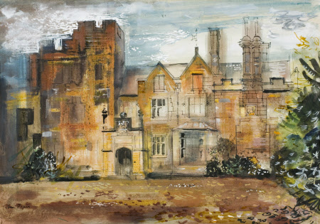 New Scotney Castle, the Entrance Front