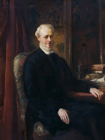 The Reverend Francis William Rice, 5th Baron Dynevor of Dynevor (1804-1878)