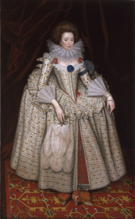Mary Curzon, Countess of Dorset (1585 -1645) (after William Larkin)