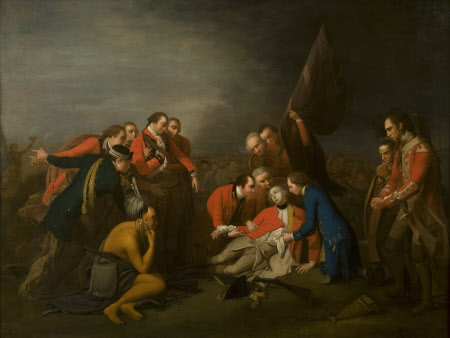 The Death of General James Wolfe (1727-1759) (after Benjamin West PRA)