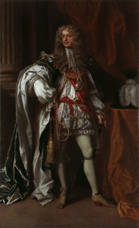 James Butler, 1st Duke of Ormonde KG (1610 – 1688), in Garter Robes
