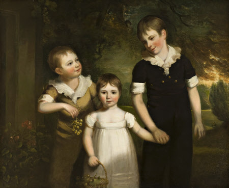 Francis James Curzon (1803-1851), Mary Curzon, later Mrs John Beaumont (1806-1868) and Alfred ...