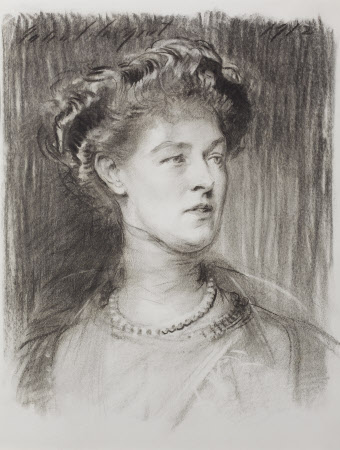 Lady Violet Ida Evelyn Lane-Fox, 16th Baroness Darcy of Nayth, Countess of Powis (1865-1929)