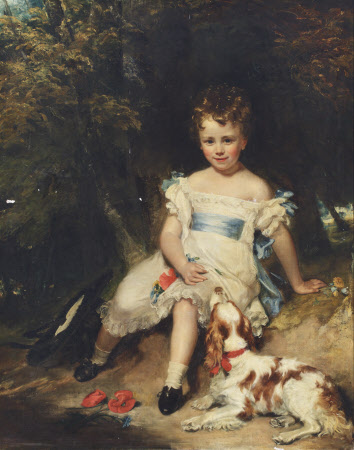 Sir Jacob Henry Delaval Astley, 17th Lord Hastings (1822-1871) as a Boy