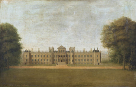 View of the South (Park) Front of Seaton Delaval Hall