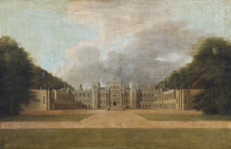 View of the North (Entrance) Front of Seaton Delaval Hall