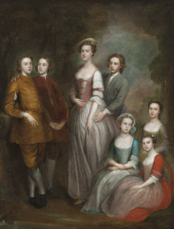 The Seven Eldest Children of Captain Francis Delaval and Rhoda Apreece: Rhoda Delaval, later Lady ...