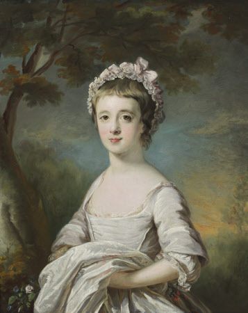 Anna Maria Astley (c.1760 -1768), as a girl